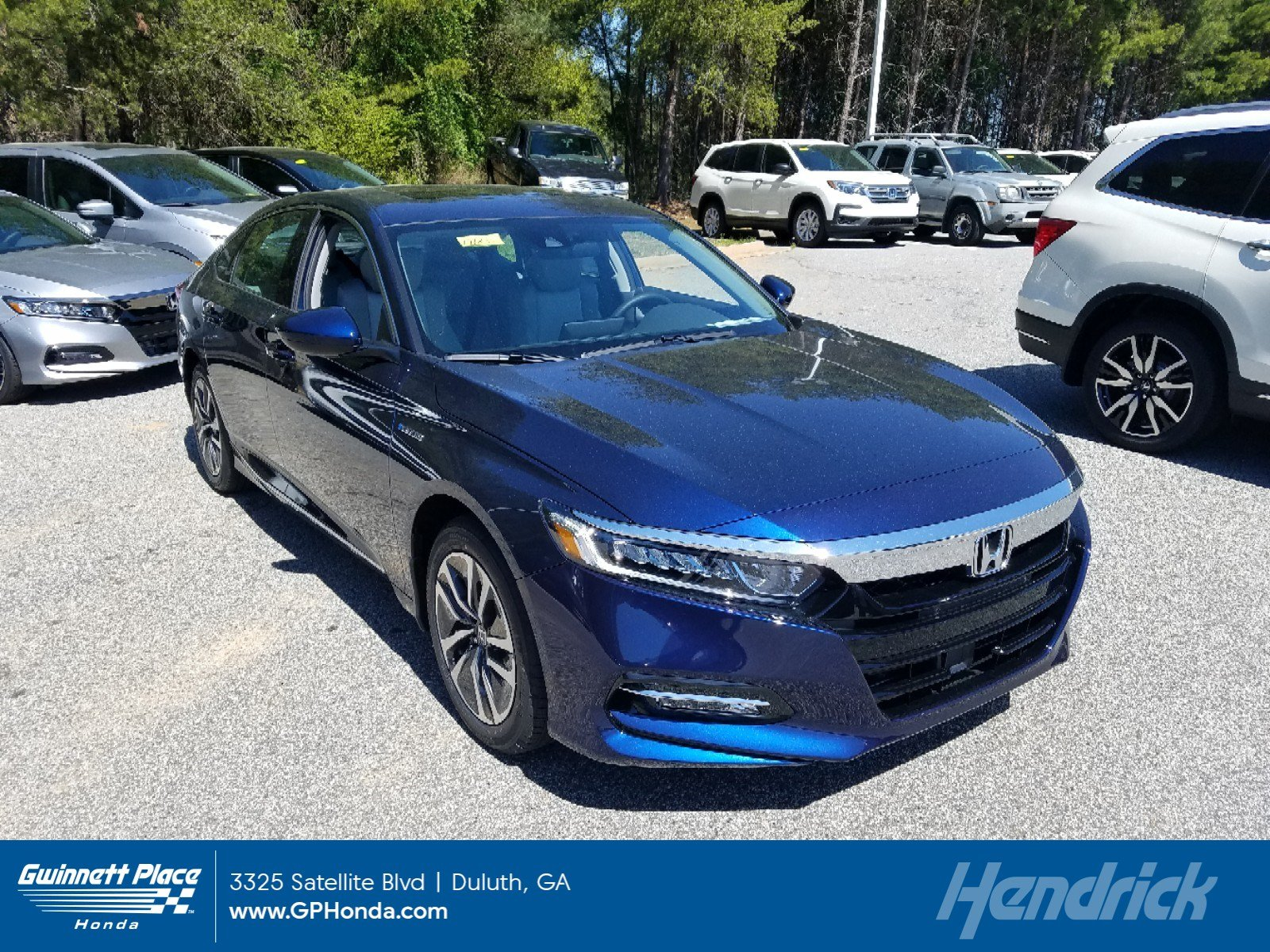 New 2019 Honda Accord Hybrid EX Sedan Sedan for sale in Durham, NC
