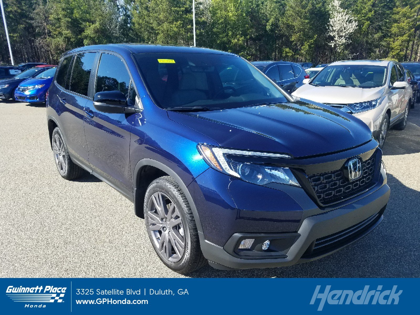 New 2019 Honda Passport EX-L FWD SUV for sale in Duluth, GA