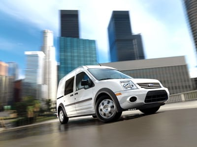 2010 Ford Transit Connect Transportation Specifications