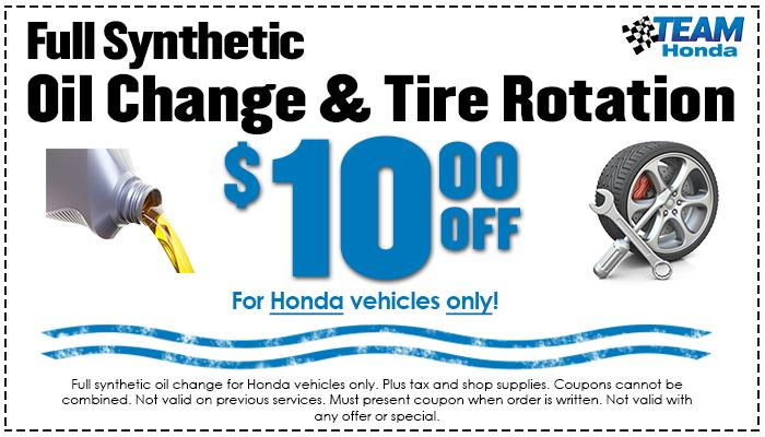 $10 Off Oil / Tire