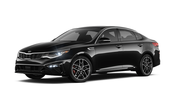 A black 2019 Kia Optima