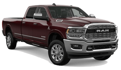 A red 2019 Ram 2500