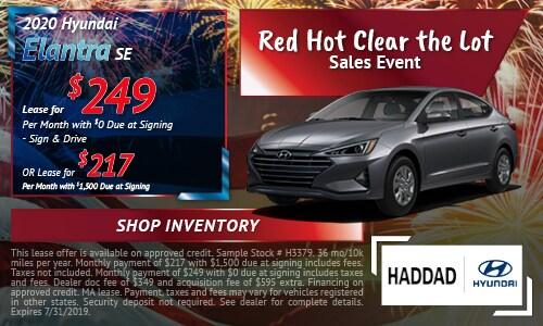 2020 Hyundai Elantra SE - July