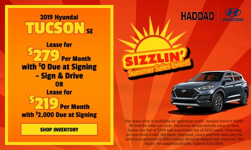 2019 Hyundai Tucson - August