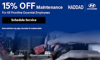 15% Off Maintenance For All Frontline Essential Employees