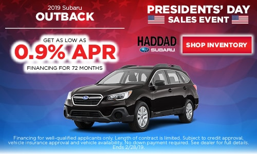 2019 Subaru Outback Financing Offer