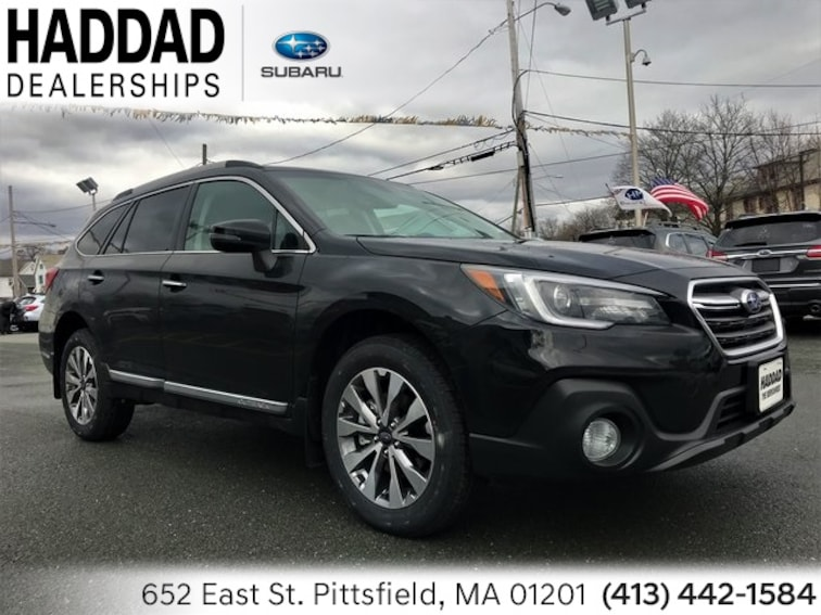 New 2019 Subaru Outback 3.6R Touring SUV Crystal Black Silica in Pittsfield