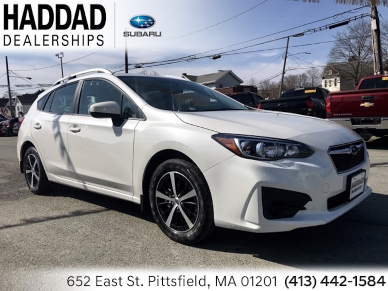 New 2019 Subaru Impreza 2.0i Premium 5-door White Pearl in Pittsfield