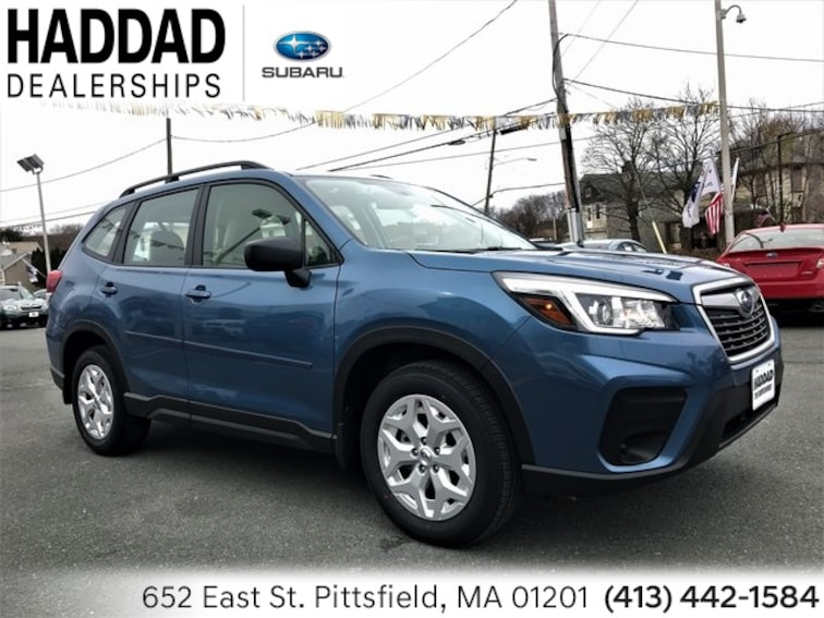 New 2019 Subaru Forester Pittsfield Ma Vin Jf2skacc3kh446325