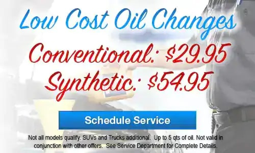 Low Cost Oil Changes