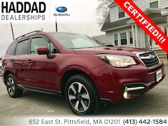 Certified Used 2018 Subaru Forester 2.5i Limited SUV in Pittsfield, MA