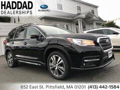 2019 Subaru Ascent Limited 7-Passenger SUV Black   Silver in Pittsfield, MA