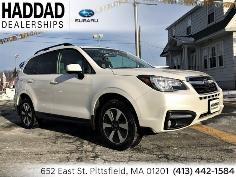 Certified Used 2018 Subaru Forester 2.5i Limited SUV in Pittsfield