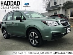 Certified Used 2017 Subaru Forester 2.5i SUV in Pittsfield, MA