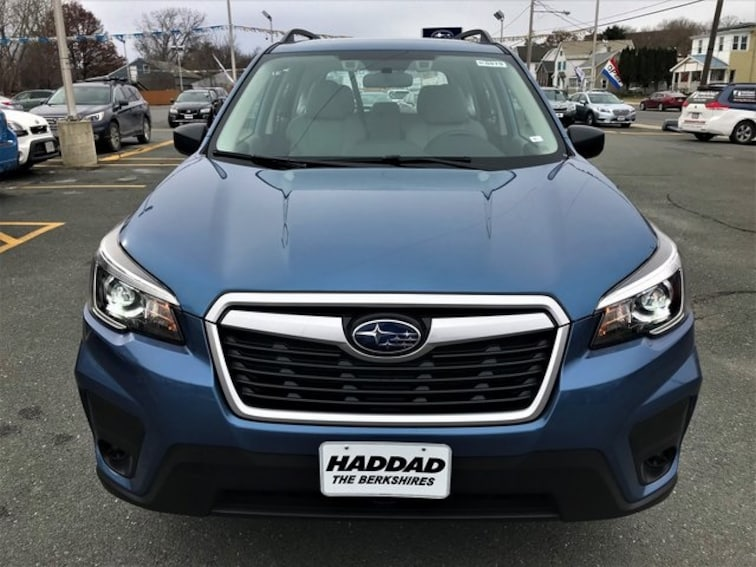 New 2019 Subaru Forester Pittsfield Ma Vin Jf2skacc1kh489982
