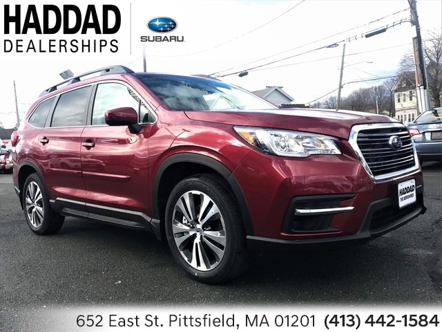 2019 Subaru Ascent Premium 7-Passenger SUV Crimson Red