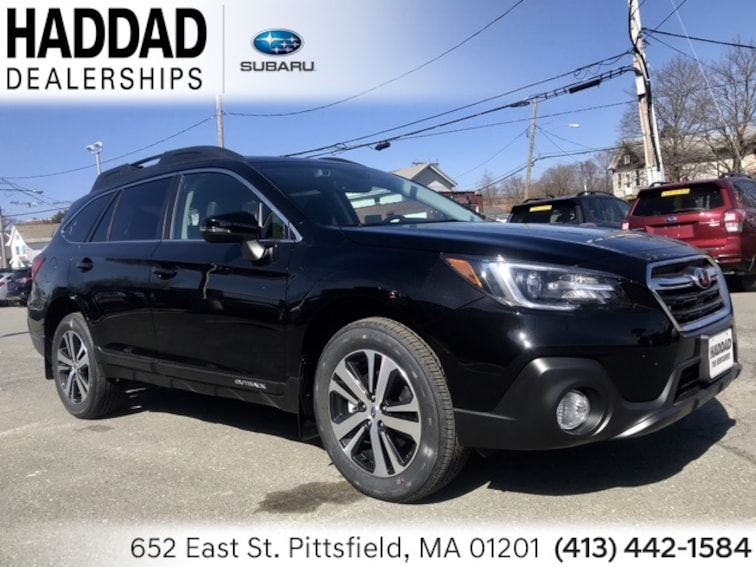 New 2019 Subaru Outback 3.6R Limited SUV Black   Silver in Pittsfield
