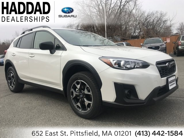 New 2019 Subaru Crosstrek 2.0i SUV White Pearl in Pittsfield, MA
