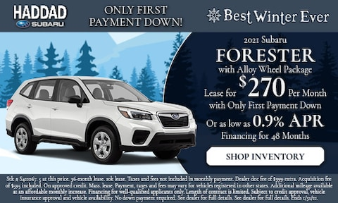 2021 Subaru Forester with Alloy Wheel Package