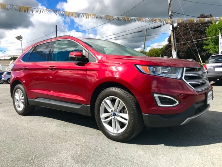 Used 2015 Ford Edge SEL SUV in Pittsfield