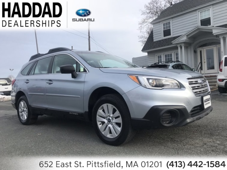 Certified Used 2017 Subaru Outback 2.5i SUV in Pittsfield