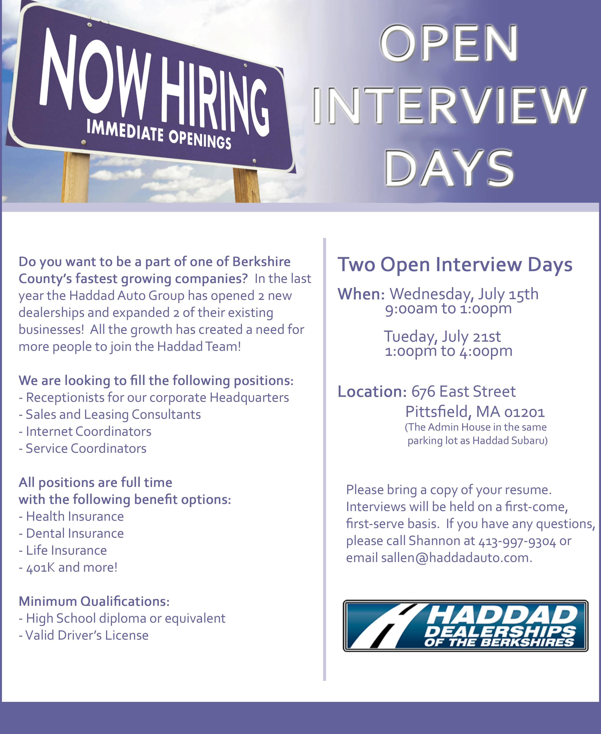 job opportunities at haddad subaru new subaru used car experienced s consultant