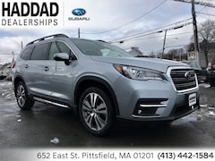 2019 Subaru Ascent Limited 8-Passenger SUV Ice Silver in Pittsfield, MA