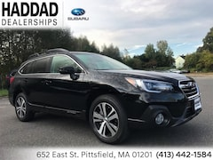 2019 Subaru Outback 2.5i Limited SUV Crystal Black Silica in Pittsfield, MA