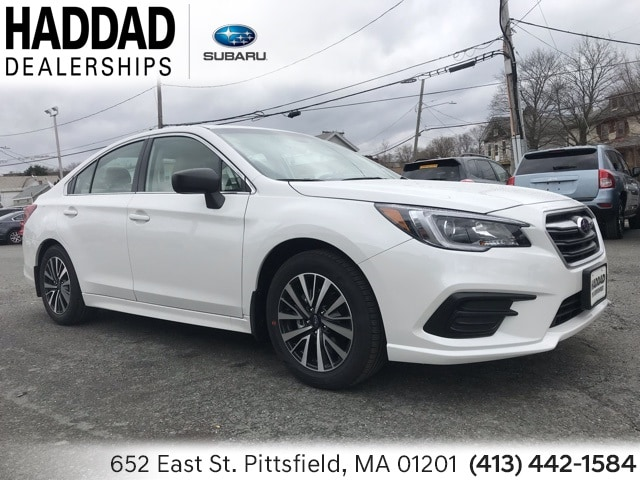 New 2019 Subaru Legacy 2.5i Sedan Crystal White Pearl in Pittsfield, MA