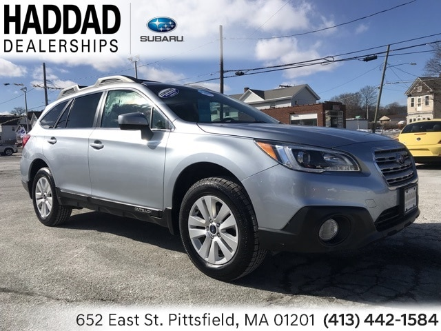 Used 2017 Subaru Outback 2.5i SUV in Pittsfield, MA