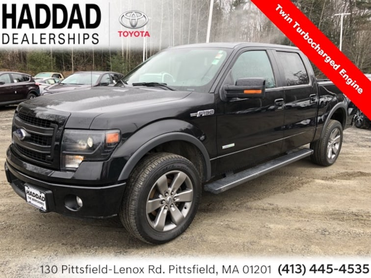 Used 2014 Ford F-150 Truck SuperCrew Cab in Pittsfield