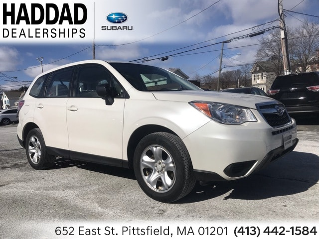 Used 2014 Subaru Forester 2.5i SUV in Pittsfield, MA