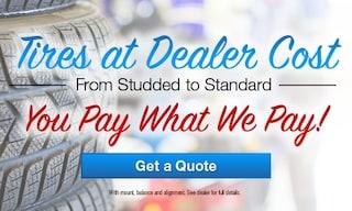 Tires at Dealer Cost