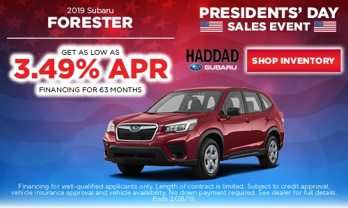 2019 Subaru Forester Financing Offer