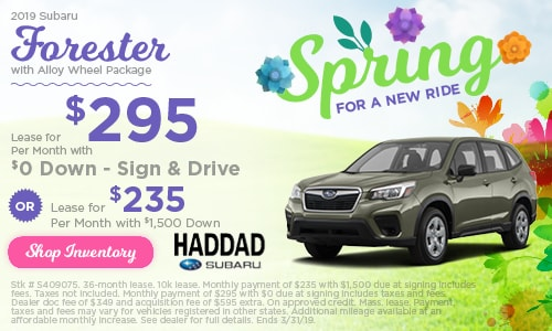 2019 Subaru Forester Lease - March