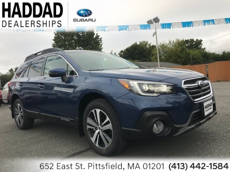 New 2019 Subaru Outback 2.5i Limited SUV Abyss in Pittsfield
