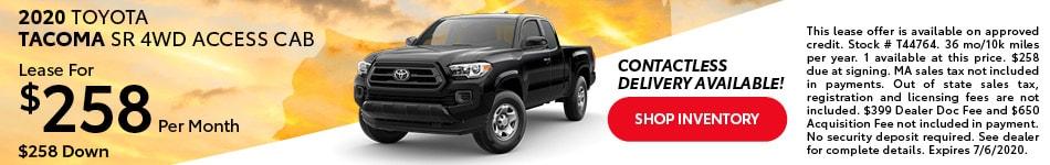 2020 Toyota Tacoma SR 4WD Access Cab