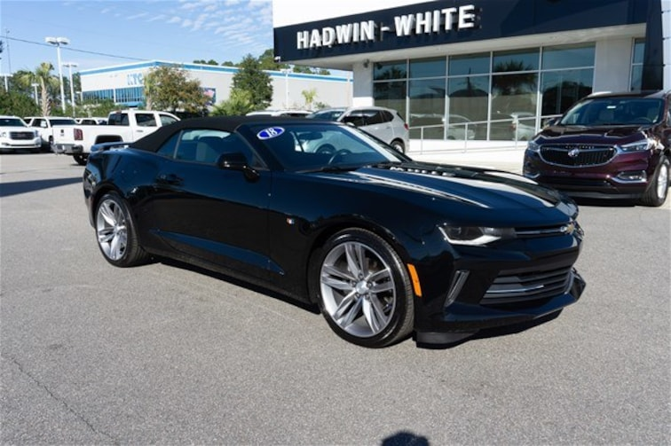 used 2018 chevrolet camaro convertible 1lt black for sale in