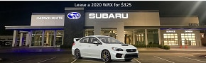 Lease a new 2020 WRX for $325/Month