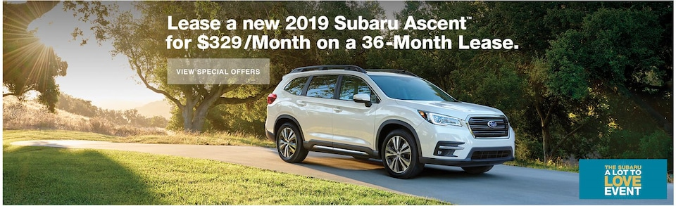 Lease a new 2019 Ascent for $329/Month