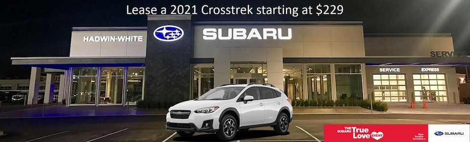 Lease a new 2021 Crosstrek for $229/Month