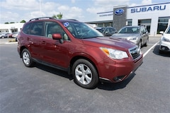 Certified Pre-Owned 2015 Subaru Forester 2.5i Limited SUV 9504A for sale near Garden City