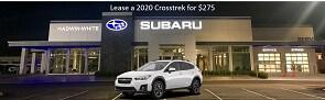 Lease a new 2020 Crosstrek for $275/Month