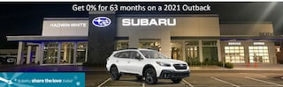 0% APR Financing for 63 mos. on a new 2021 Outback