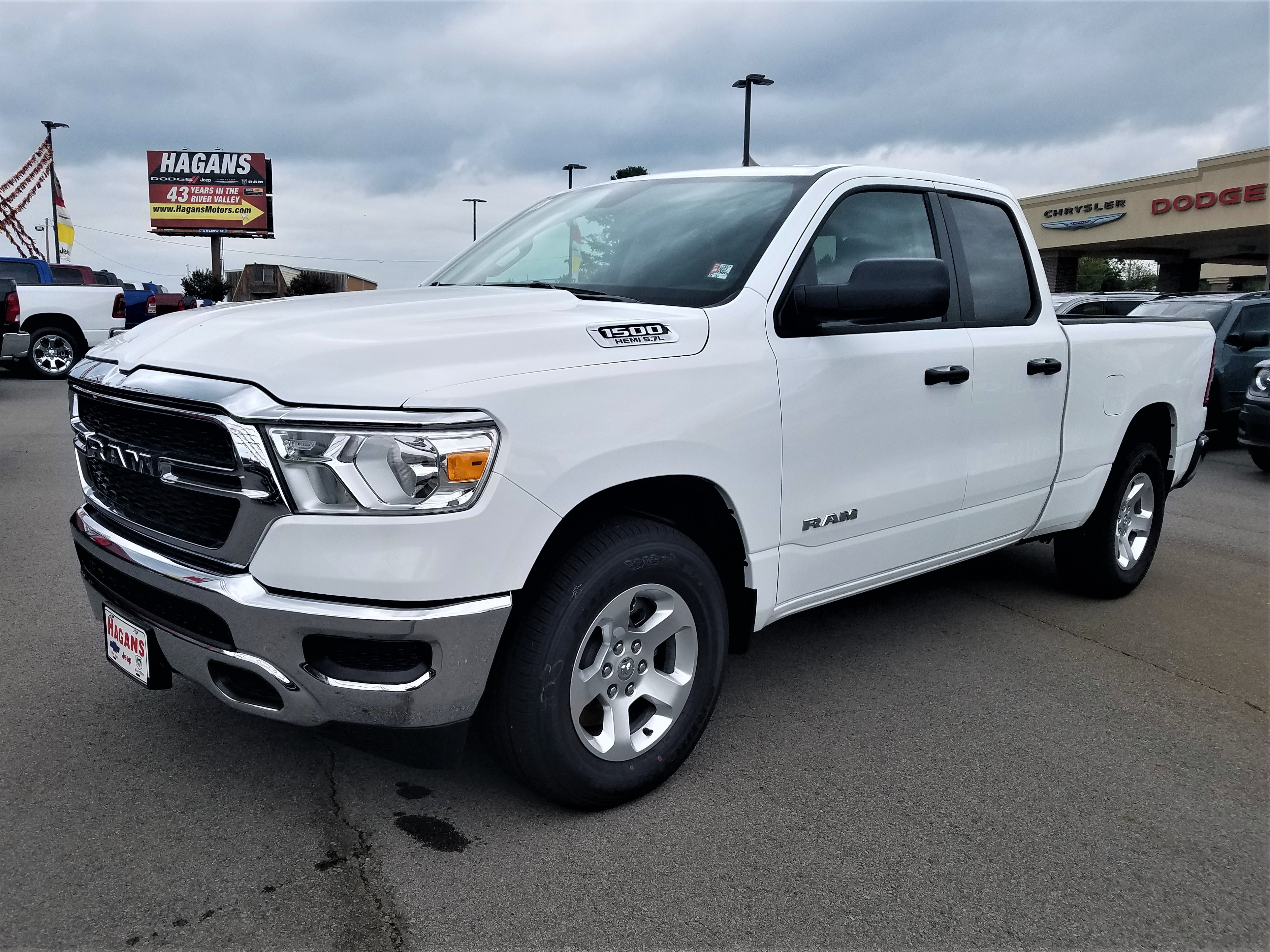 Featured New 2019 Ram All-New 1500 TRADESMAN QUAD CAB 4X2 6'4 BOX Quad Cab for sale near you in Morrilton, AR