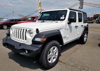 New cars, trucks, and SUVs 2018 Jeep Wrangler UNLIMITED SPORT S 4X4 Sport Utility for sale near you in Morrilton, AR