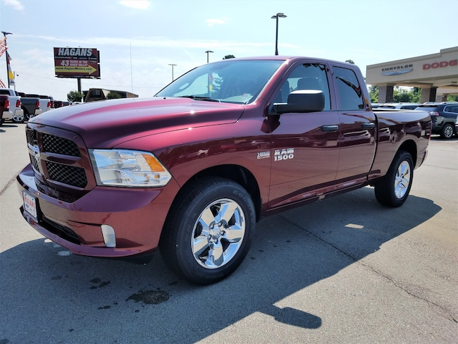 New vehicle 2018 Ram 1500 EXPRESS QUAD CAB 4X2 6'4 BOX Quad Cab For sale near you in Morrilton, AR