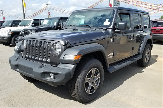 New vehicle 2018 Jeep Wrangler UNLIMITED SPORT S 4X4 Sport Utility For sale near you in Morrilton, AR