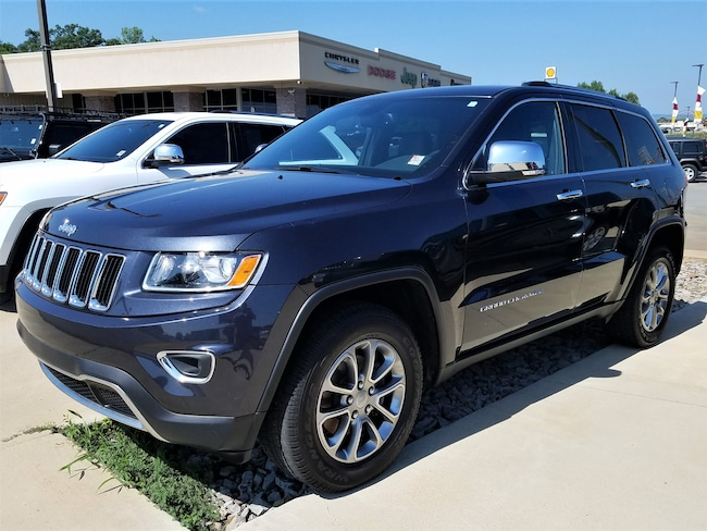 Certified pre-owned 2015 Jeep Grand Cherokee Limited 4x2 SUV for sale in Morrilton, AR