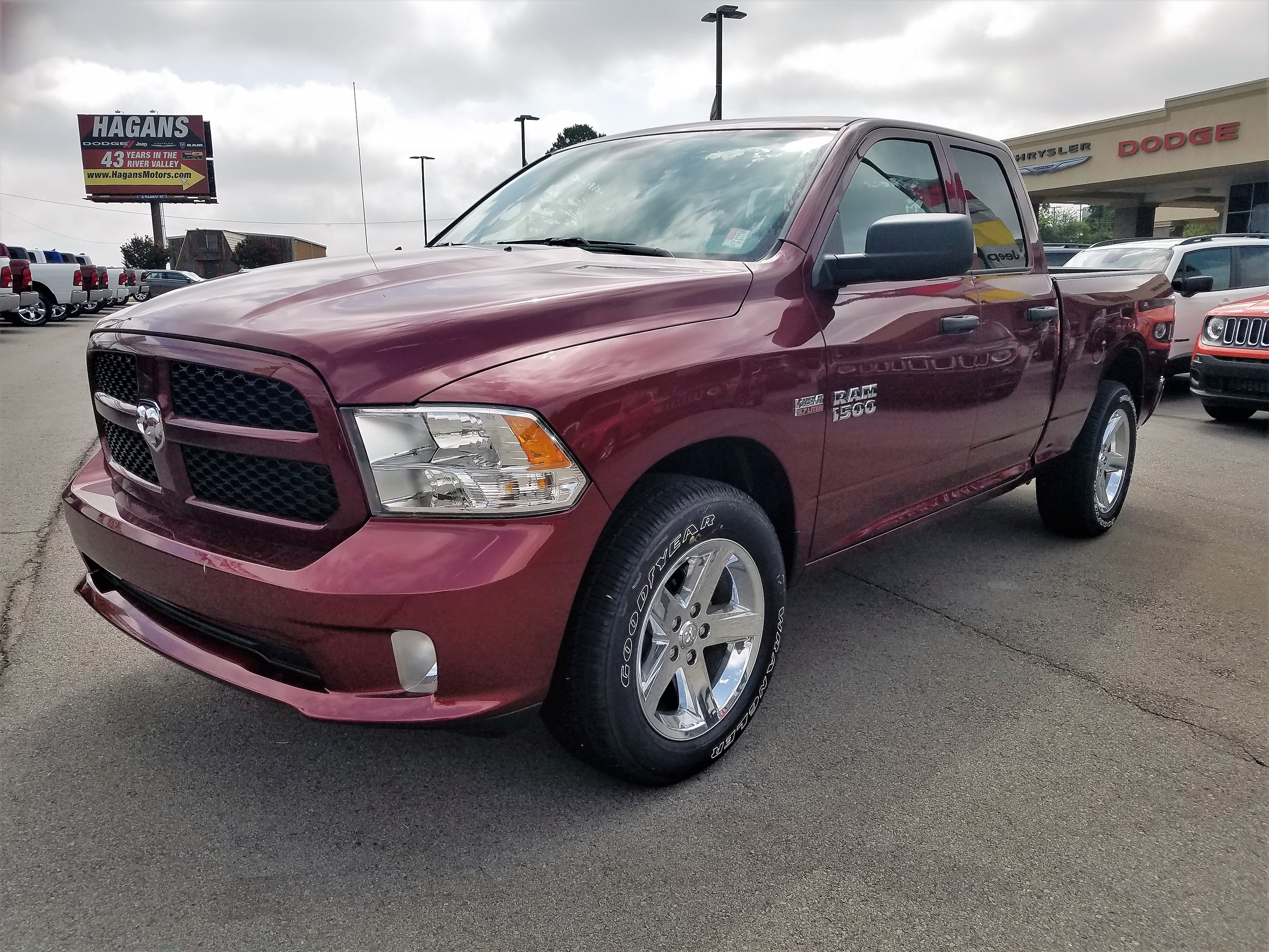 Featured New 2018 Ram 1500 EXPRESS QUAD CAB 4X2 6'4 BOX Quad Cab for sale near you in Morrilton, AR